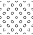 Loading spinner pattern simple style vector image