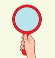 mirror vector image