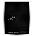 ray circle card abstract paper vector image vector image