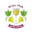 Wine Club Quality Collection For Labels Tags vector image