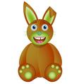 Bunny toy vector image vector image