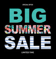 big summer sale abstract background vector image vector image