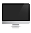 Modern realistic computer monitor vector image