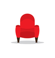 Single Cinema Seat vector image
