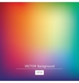 Gradient Colorful Background vector image