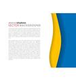 White and rainbow elegant business background vector image