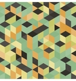 Abstract geometrical 3d colorful background vector image