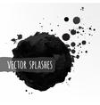 Inky splashes vector image