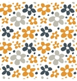 Abstract Flowers Seamless Pattern Texture vector image