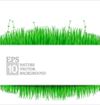 Nature background with green grass 02 380x400 vector image