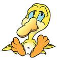 Yellow Duckling vector image