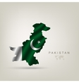 Flag of Pakistan as a country vector image