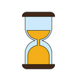 sand glass timer icon vector image