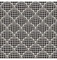 Seamless Black And White Retro Circles Grid vector image