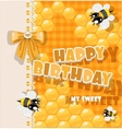 Happy Birthday to my sweet vector image vector image