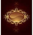 oval jewelry banner vector image
