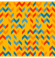 Colorful chevron pattern vector image vector image