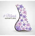 Female Body Postcard vector image