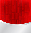 red bokeh abstract vector image