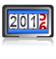 2016 New Year counter vector image