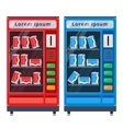 vending machines flat vector image