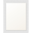 Blank empty album notepad format A4 for drawing vector image