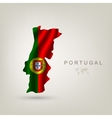 Flag of Portugal as a country vector image