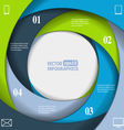 Modern business infographics vector image vector image