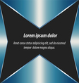 blue abstract layout background and design vector image