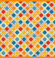 Colorful arabic pattern vector image