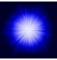 Light burst vector image vector image