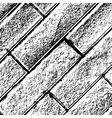 Distressed Brick Background Diagonal vector image vector image
