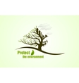 Protect the environment vector image