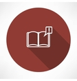 books with symbol vector image