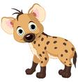 baby hyena vector image