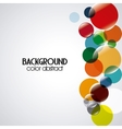 Background design Abstract figure Colorfull vector image