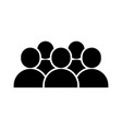 People icon image vector image