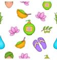 Beauty pattern cartoon style vector image