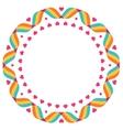 Design elements - round frame vector image