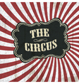 classical circus background vector image