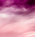 Violet Sky - Abstract Nature Background vector image