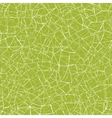 Green mosaic texture seamless pattern background vector image