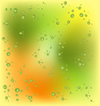 Raindrops On My Window vector image