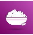 Black caviar logo seafood appetite vector image