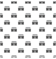 Boombox pattern simple style vector image