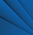 Dark blue overlap layer paper material design vector image