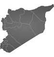 syria map vector image