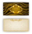Elegant template for vip luxury invitation vector image vector image