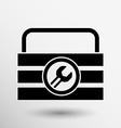 box of tools icon button logo symbol concept vector image