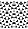 Design seamless monochrome lacy pattern vector image
